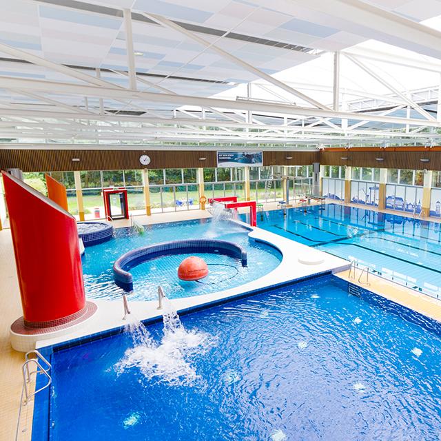 Badbereich der Friesentherme Emden