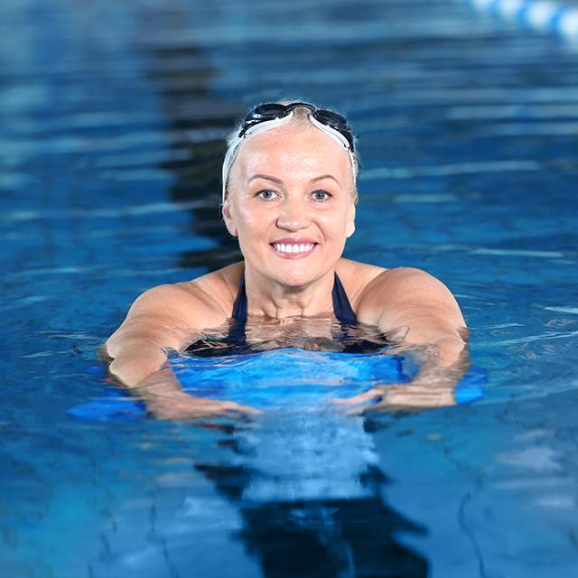 Anfänger Schwimmkurse für Erwachsene