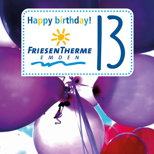 Geburtstag Friesentherme Emden
