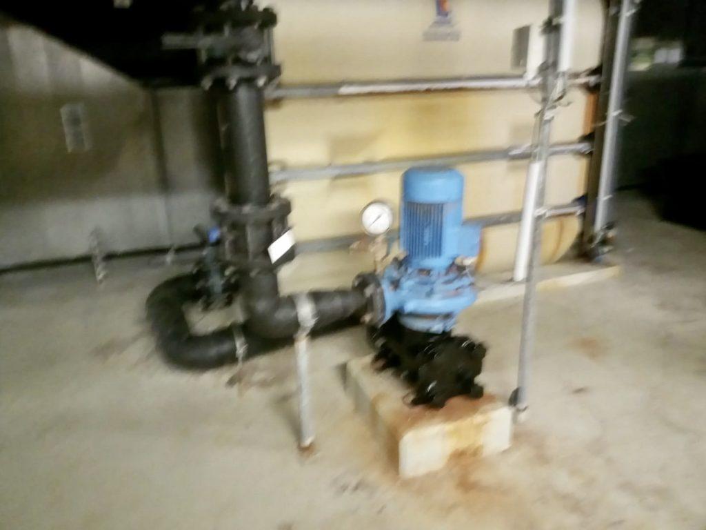 Erneuerung eines Pumpengehäuses