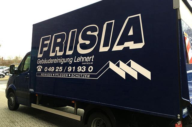 Reinigunsarbeiten durch Frisia