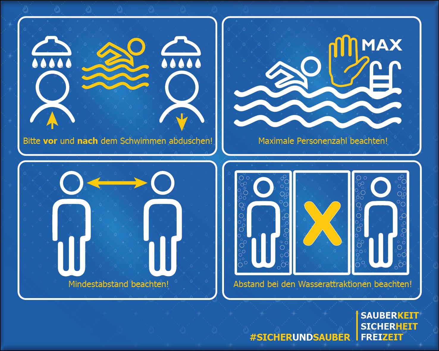 Beckenregeln Badbereich
