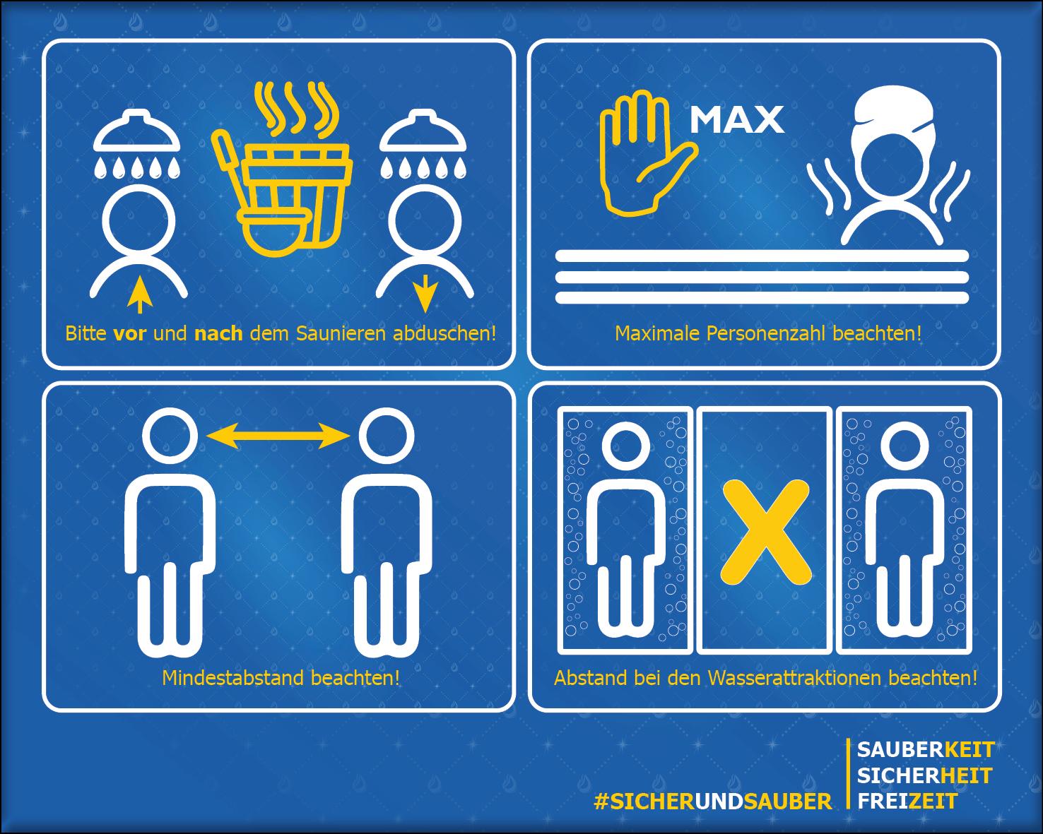 Beckenregeln Saunabereich