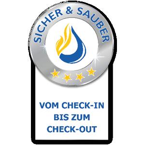 SICHER & SAUBER vom Chek-In bis zum Check-Out
